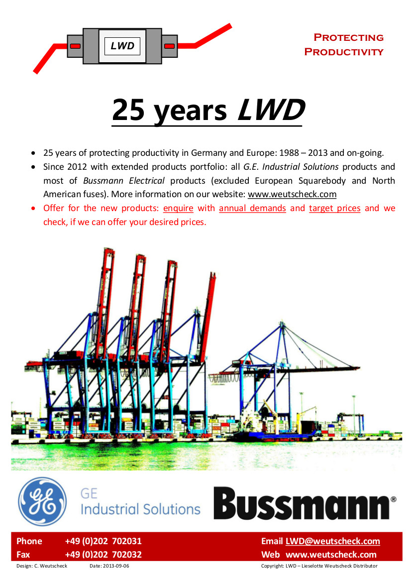 25 Years LWD